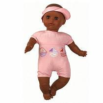 Кукла Малышка в розовом, мулатка, 34 см (Paola Reina, 07151_paola)