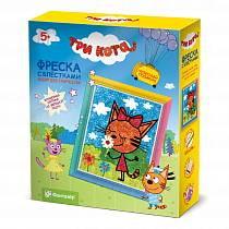 Фреска с блестками - Три кота. Карамелька (Фантазер, 405101ФН)