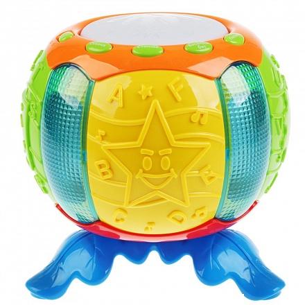 Развивающая игрушка – Барабан, свет и звук