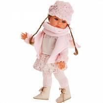 Кукла Белла с шарфиком, 45 см (Antonio Juans Munecas, 2811P)