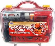 Набор инструментов, 26 предметов, в чемодане, серия «Помогаю Папе» (Rinzo/Abtoys, PT-00269)