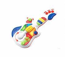 Детская музыкальная гитара, свет и звук (Hap-p-Kid, 3856T)