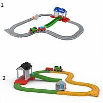 Железная дорога Thomas and friends - Перси в спасательном центре (Fisher-Price, FBC57sim)