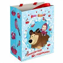 Пакет подарочный - Маша зимой (Росмэн, 28847ros)