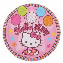 Набор тарелок Hello Kitty 17см, 8 штук (Amscan 1502-0931)