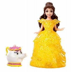 Кукла на колесиках из серии Disney Princess - Белль и миссис Потс (Mattel, BJF23-BDK11) - миниатюра