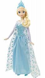 Кукла Эльза, поёт песню (по-русски) из мультфильма «Холодное сердце» (Mattel, DFR33)