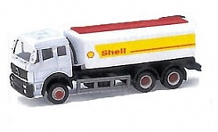 Бензовоз Shell Mercedes-Benz (Welly, ep99610-3)
