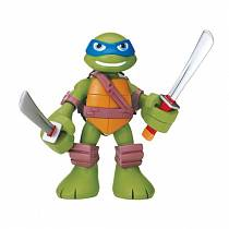 Говорящая фигурка Черепашки-ниндзя Леонардо, 15 см серия Half Shell Hero (Playmates, 96311)