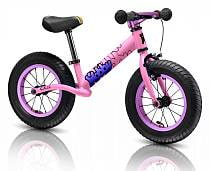 Детский велобалансир-беговел Hobby-bike RT original BALANCE Twenty two 22 pink aluminium, 4481RT