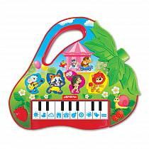 Пианино - Клубничка (Азбукварик, 28211-4)