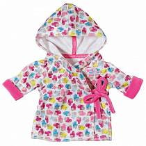 Одежда для куклы Baby Born - Халат с капюшоном (Zapf Creation, 822-463)