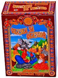 Кукольный театр Козлята и волк, 5 персонажей (Волк, коза, три козленка) (Русский Стиль, 11251)