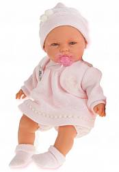Кукла Соня в розовом, плачет, 37 см (Antonio Juans Munecas, 1443P)