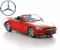 Mercedes-Benz SL500, масштаб 1:18 (Welly, 18046c)