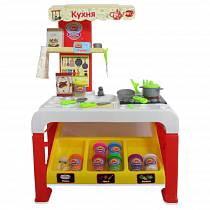 Набор - Креативная мастерская, кухня с аксессуарами для лепки (ABtoys, PT-00696)
