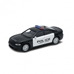 Модель машины 1:38 Dodge Charger Police (Welly, 43742P)