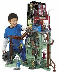 Игровой набор Черепашки Ниндзя, Штаб Квартира (Playmates Toys, 95010)