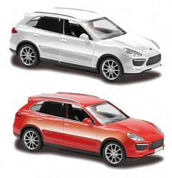 Металлическая машина RMZ City - Porsche Cayenne Turbo, 1:43 (RMZ City, 444012)