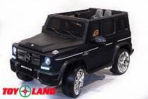Электромобиль Mercedes Benz G65, цвет - черный матовый (ToyLand, MBAMGG65 ЧМ)