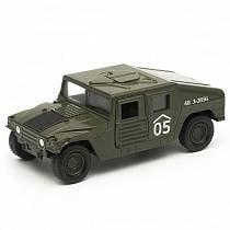 Игрушка - Военный бронированный автомобиль (Welly, 99192)