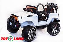 Электромобиль Jeep белый (ToyLand, SH 888Б)
