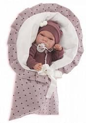 Кукла Паола в фиолетовом, 33 см. (Antonio Juan Munecas, 6015V)