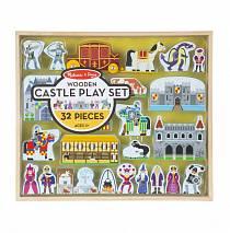 Классические игрушки – Фигурки: Деревянный замок (Melissa&Doug, 979_md)