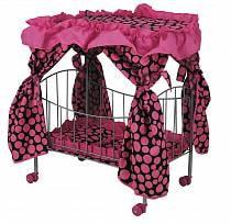 Большая кровать с навесом для куклы, 60 см. (Melogo, 8850a/9350a)