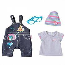 Одежда Джинсовая для кукол из серии Baby born (Zapf Creation, 822-210)