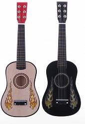 Гитара деревянная, 60 см., 6 струн, арт. 437A3