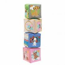 Игрушка кубики мягкие - Disney (Chicco, 75180)