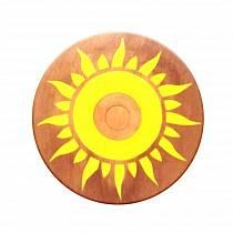Щит круглый из бука, ручная работа (ЯиГрушка, 7304st)