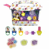 Игровой набор детской декоративной косметики из серии Красавица и Чудовище, в сумочке (Markwins, 9705651)