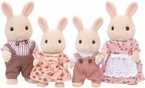 Sylvanian Families - Семья Молочных Кроликов (Sylvanian Families, 4108st)