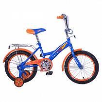 "Детский велосипед – Hot Wheels, 16"", GW-тип, сине-оранжевый (ST16011-GWsim)"