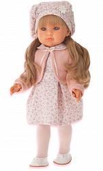 Кукла Амалия в розовом, 45 см (Antonio Juans Munecas, 2810P)