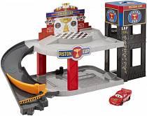 Большой гараж – Тачки (Mattel, DWB90)