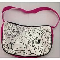 Набор для творчества – сумочка для росписи Моя маленькая пони (Multiart, ST-027-MLPsim)