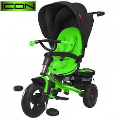3-х колёсный велосипед RT Icon evoque New Stroller by Natali Prigaro EVA Emerald, изумрудный (Icon RT, 6350RT)
