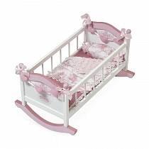 Кроватка-качалка для куклы, серия Даниэла, 56 см (DeCuevas, 54521)