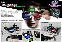 Детские шпионские очки 3D с диктофоном и камерой (Eastcolight, 9314)