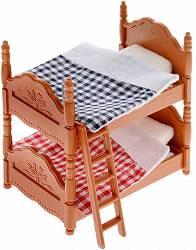 Набор мебели для спальни - Счастливые друзья, с аксессуарами (ABtoys, PT-00303)