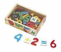 Набор из серии Магнитные игры – Цифры, 37 шт. (Melissa&Doug, 449M_md)