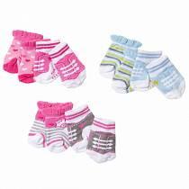 Носочки Baby born для кукол, 2 пары (Zapf, 823-576)