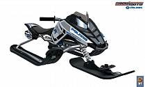 Снегокат Snow Moto Polaris Rush Blue&White (Snow Moto, 4458RT)
