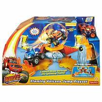 Игровой набор Вспыш - Прыжок через пылающий вулкан (Mattel, DGK85)
