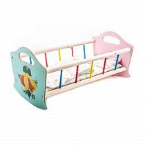 Кроватка деревянная для кукол (Деревянные игрушки – <u>поделки игрушек кукол</u> Владимир, СУС3)