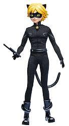 Кукла Супер Кот из серии Lady Bug Miraculous, 26 см. (Bandai, 39745-СуперКот)