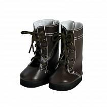 Коричневые сапоги со шнуровкой для кукол размером 46 см. (Adora, 20553017_md)